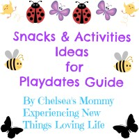 Play Date Snack and Activity Ideas!