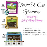 Teasia K-Cup Giveaway Ends 10/24/16 #Teasia #Giveaway #Tea #TeaDrinker #Contest
