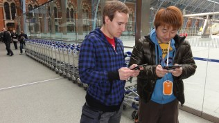 London St Pancras 3DS StreetPass Event with Yoshinori Ono (23)