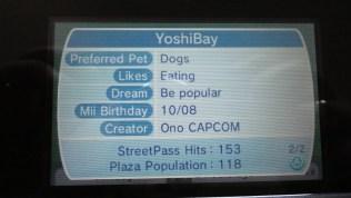 Yoshinori Ono 3DS Mii and Profile (3)