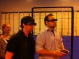 rob and matt enjoying 3D gaming