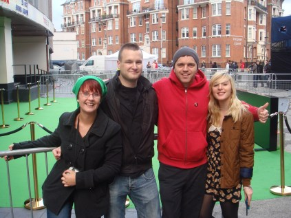 Orla, StealthBuda, Stuart and Katy at the Zelda 25th Anniversary Symphony in London