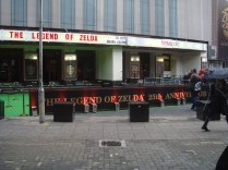 The front of Hammersmith Apollo for the Zelda 25th Anniversary Symphony in London