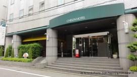 Chisun Hotel in Ueno Entrance