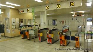 Jujo Station Ticket Barrier
