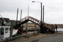 The Sandford drawbridge is reputedly the smallest manually operated drawbridge in the world.