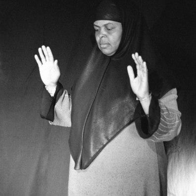 More info about Sadida is available at Artfare: https://www.artfare.com/artwork/nsenga-knight/j2vqf/as-the-veil-turns-sadiqa