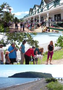 Dedication of Partridge Island, Aug 21, 2016 at Ottawa House, Parrsboro