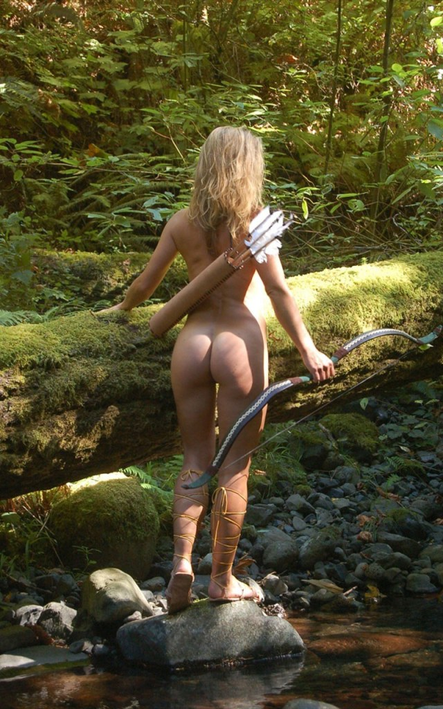 nude archer by river with perfect ass.jpg