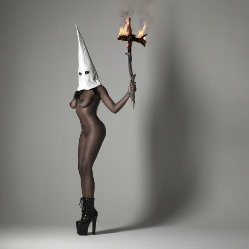 black klan woman