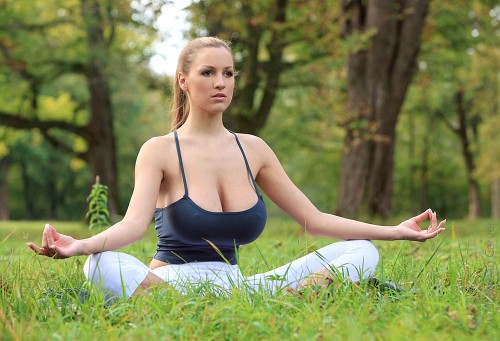 awesome yoga time