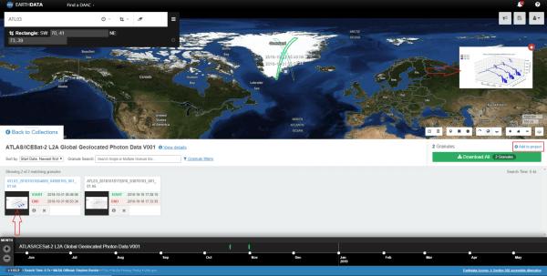 ICESat, IceBridge, and ICESat-2: A primer on data access ...