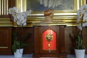 Relikwie Św. Brata Alberta w naszej parafii