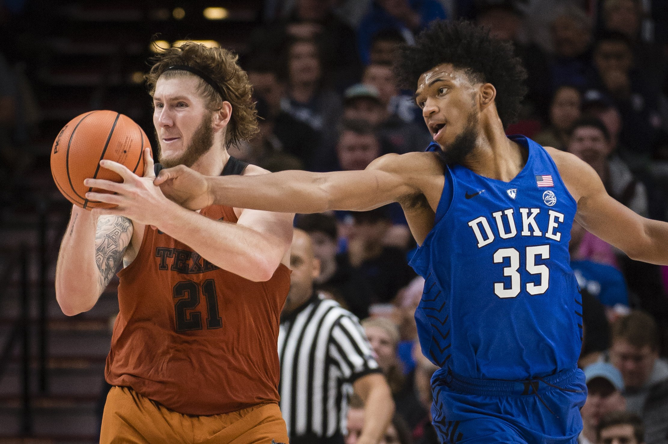 No. 1 Duke Completes Comeback Win Over Texas In Overtime