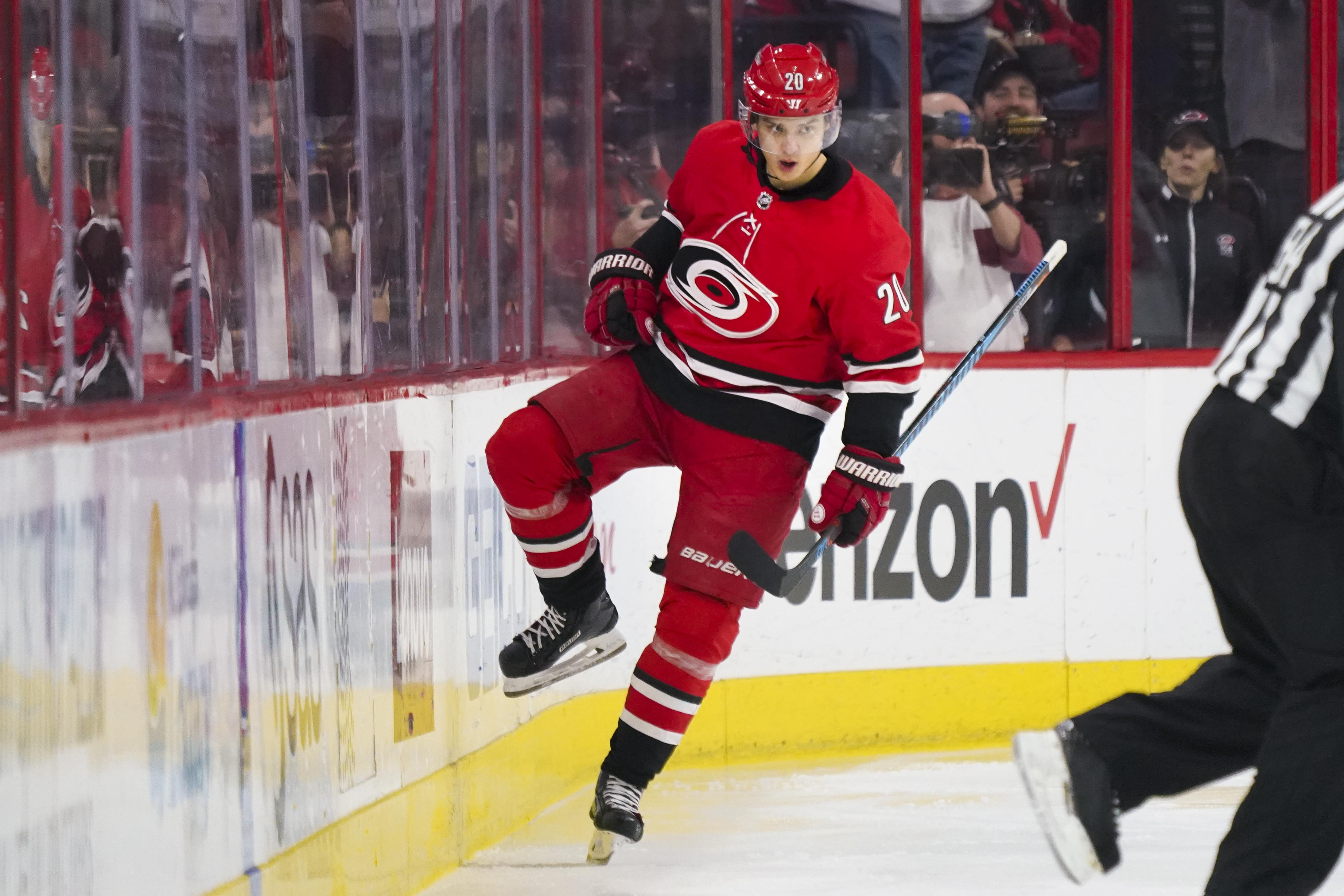 Hurricanes' Ward stops 27 photographs in shutout of Montreal