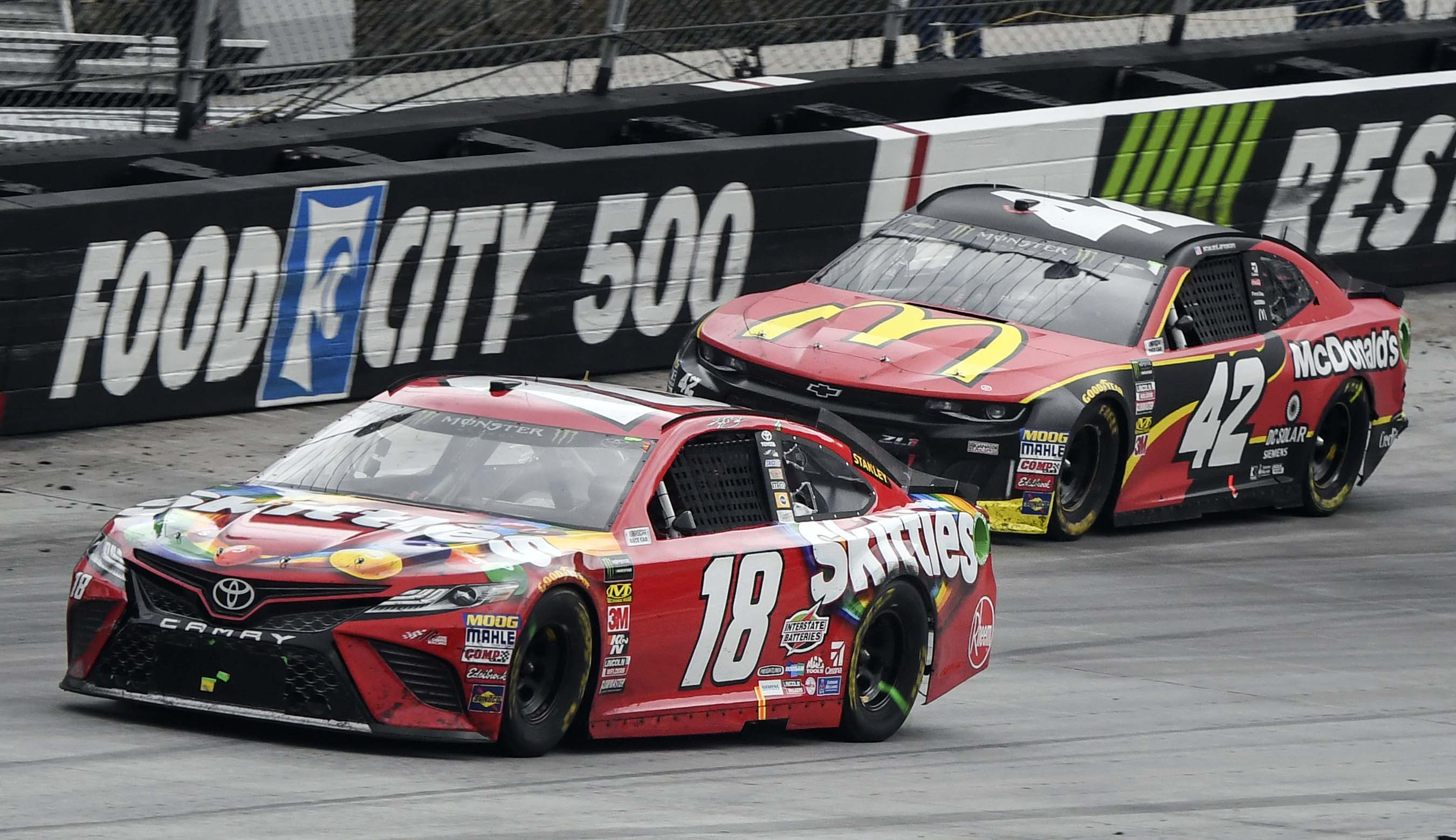 Today's Cup race at Bristol: Start time, lineup and more