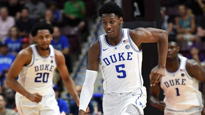 Duke sophomore O'Connell out with orbital bone fracture