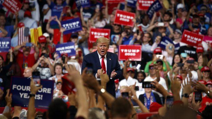 Donald Trump - Rally - 2020 - Fundraising