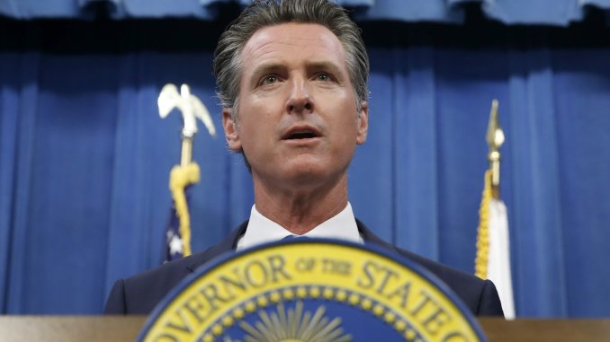 gavin newsom- california
