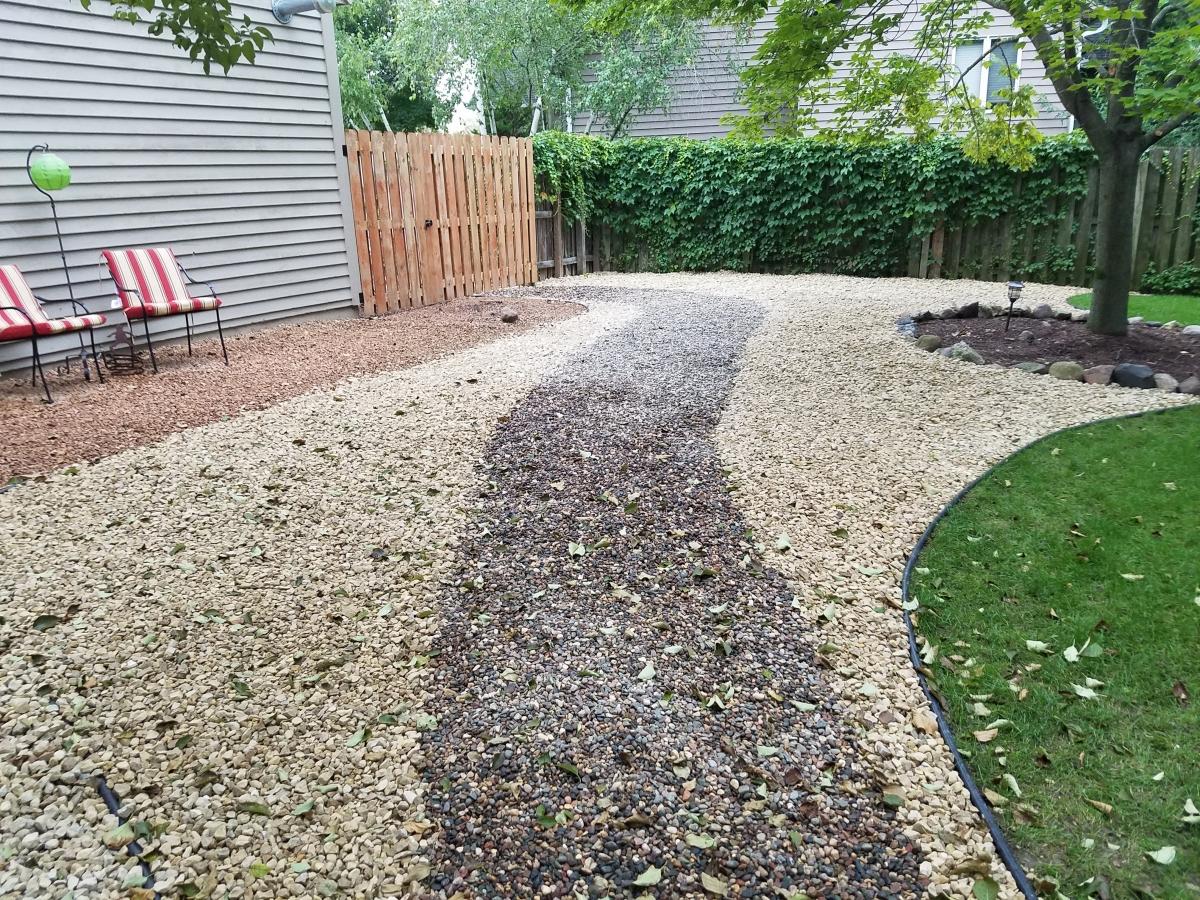 Natural Stone Paver And Precast Concrete Steps And
