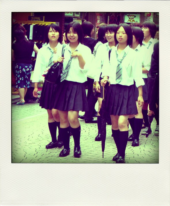 School girls Japan Japon Fashion mode