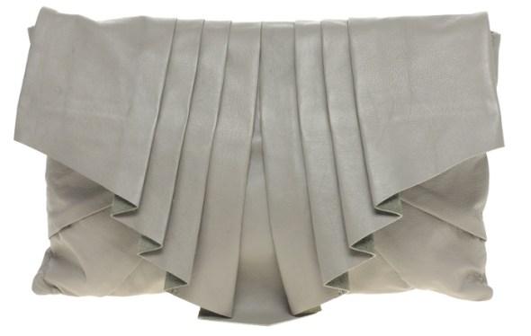 topshop turquoise clutch bag pouch pochette