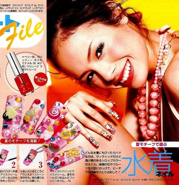 nails fashion art japon japan tokyo vivi magazine