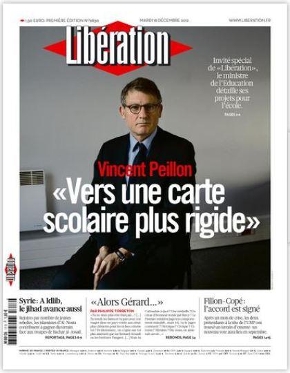 Libération Mardi 18 décembre 2012