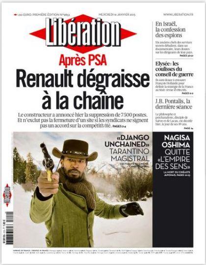 Libération Mercredi 16 janvier 2013
