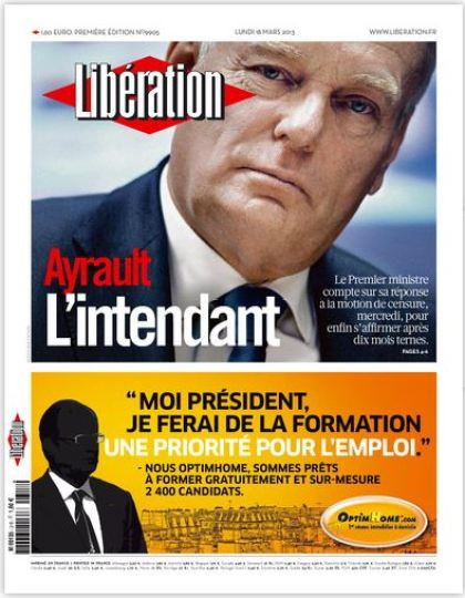 Libération Lundi 18 Mars 2013