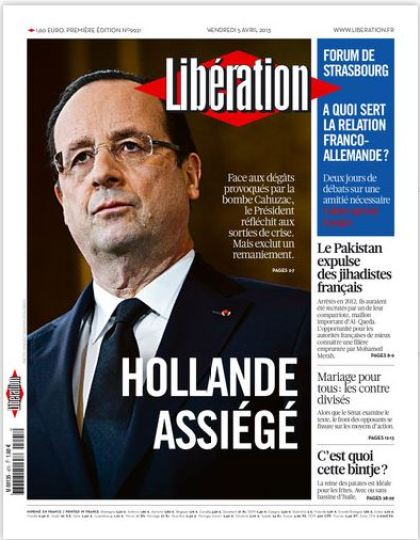 Libération Vendredi 5 avril 2013