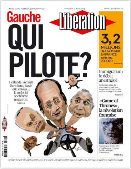 Libération Vendredi 26 avril 2013