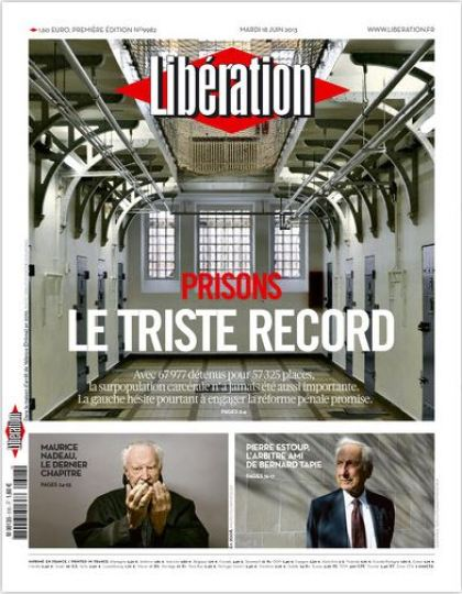 Libération Mardi 18 juin 2013