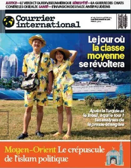 Courrier International N°1185 du 18 au 24 juillet 2013