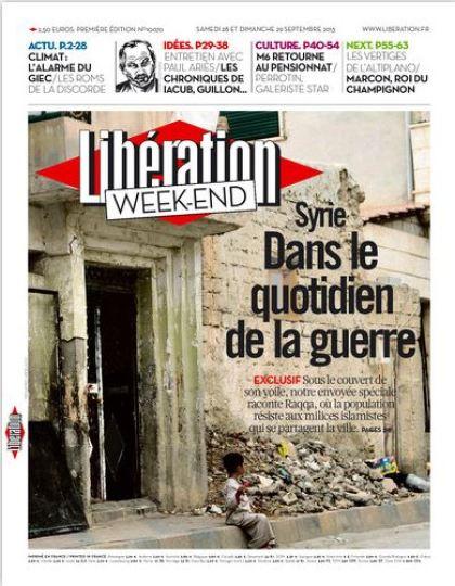 Liberation du Samedi 28 et Dimanche 29 septembre 2013
