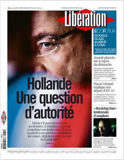 Libération Lundi 30 Septembre 2013