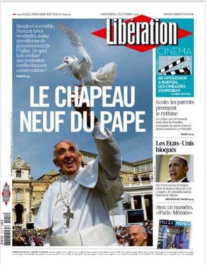 Libération Mercredi 2 Octobre 2013