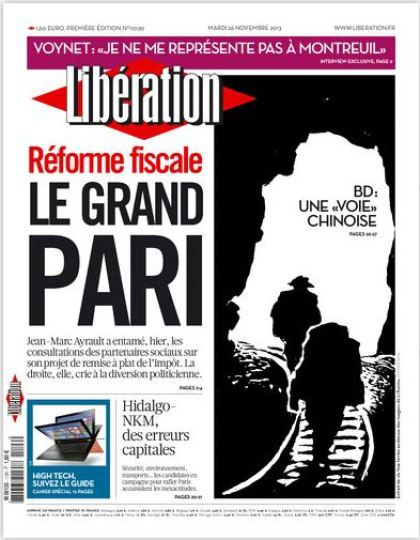Libération Mardi 26 Novembre 2013