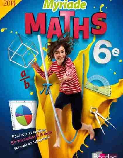 Myriade Maths 6e