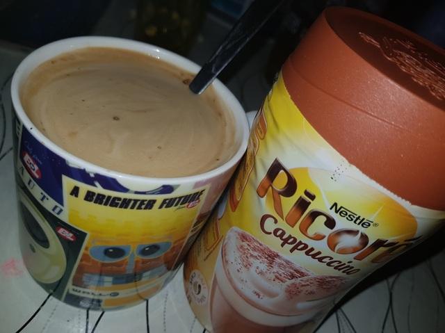 tasse de cappuccino ricoré