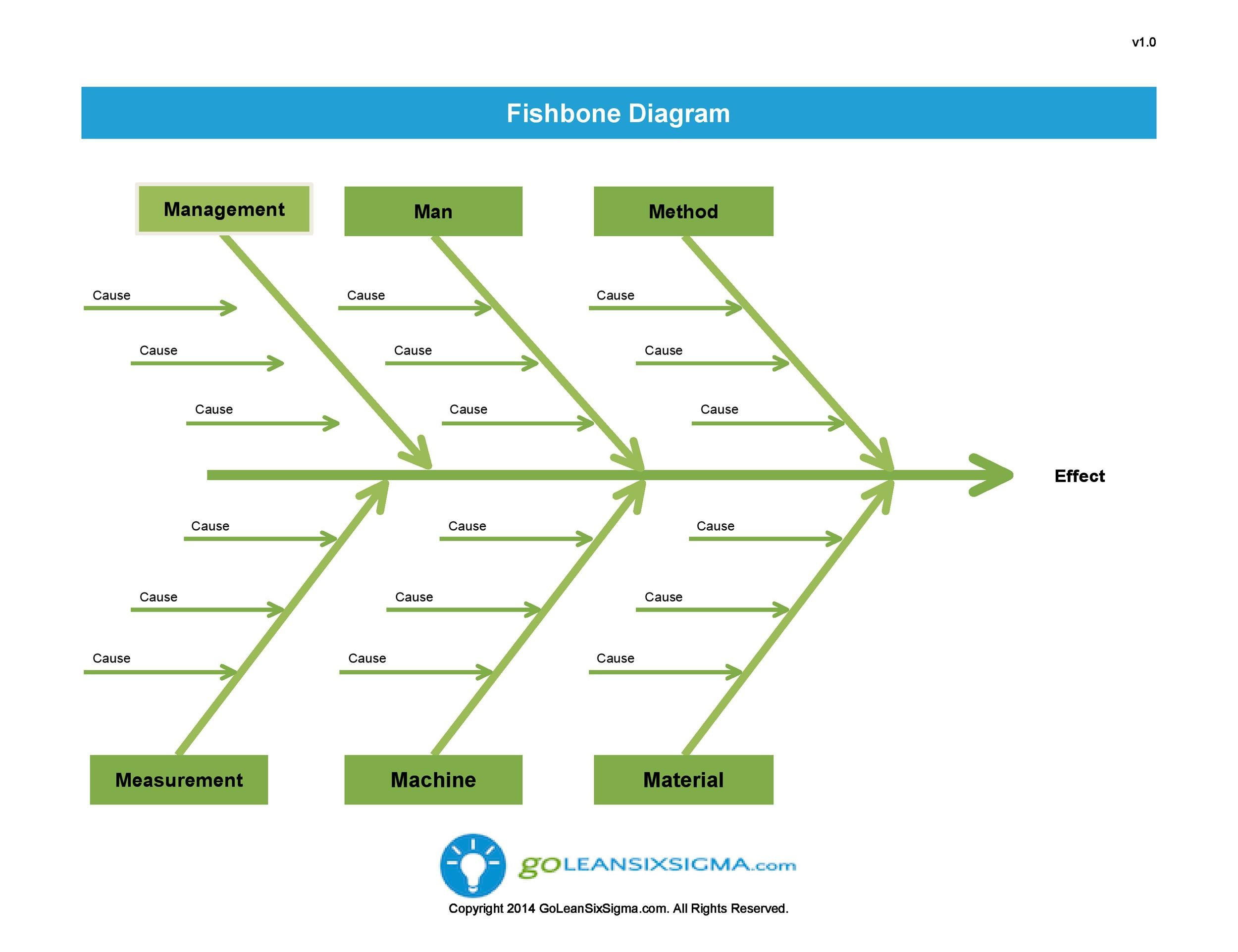 Fishbone Diagram Example For Healthcare