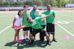 One of the teams at the Senior Olympics Credit: Grant Phillips