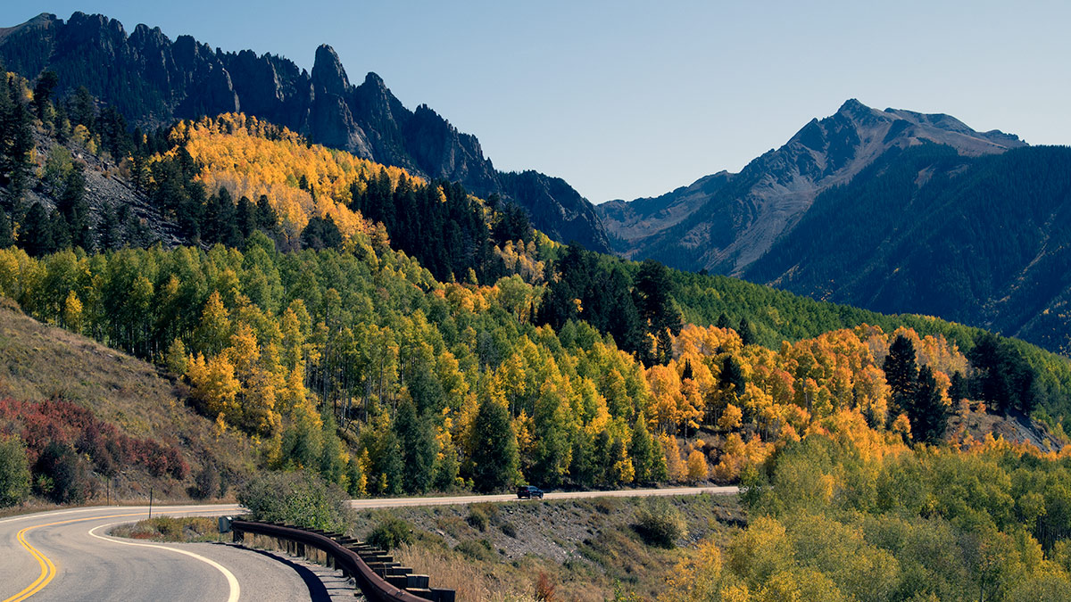Fall Colors, Colorado Mountains