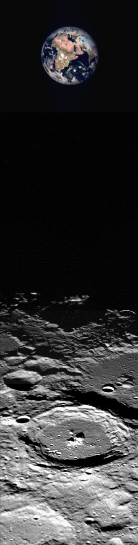 NSSDCA Photo Gallery: Earth & Moon
