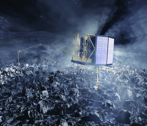 First Ever Spacecraft Landing On Comet About To Unfold ...