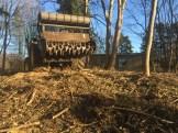 Knusning af skovhugst