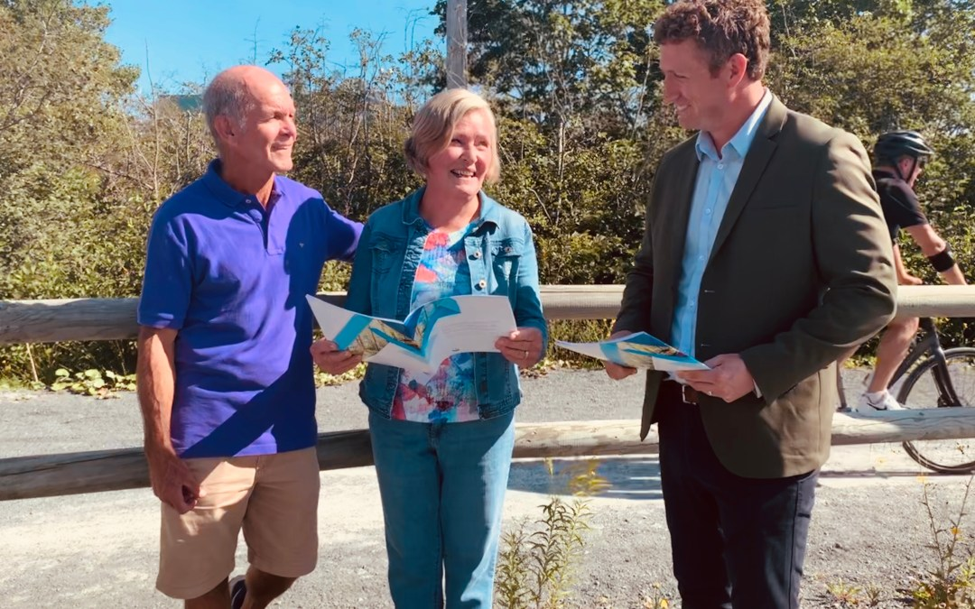 New Grant Funding, Provincial Strategy To Support Trail Development