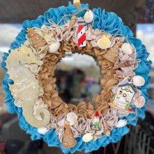 Seas and Greetings Wreath