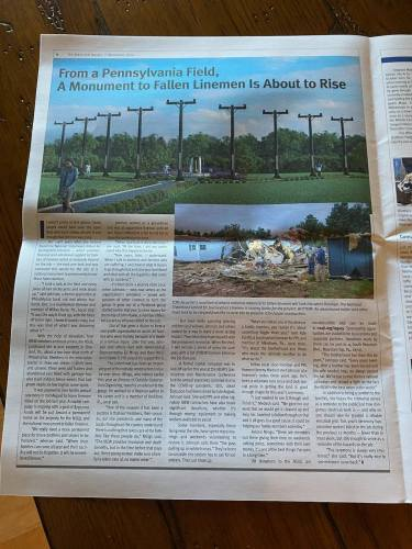 Legacy for Lineworkers Electrical Worker Article