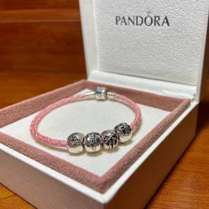 Valentine's Day Pandora Pink Bracelet Lineman Beads 2